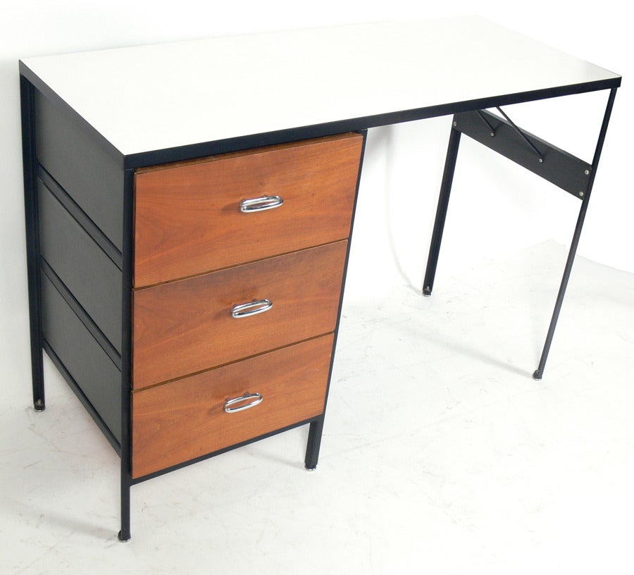 Modern Desk Designed By George Nelson For Herman Miller At