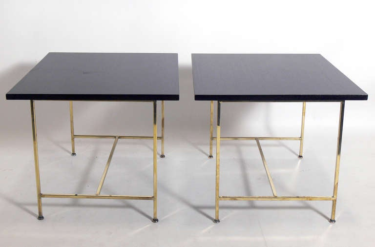 Pair Of Modernist End Tables Or Night Stands By Paul