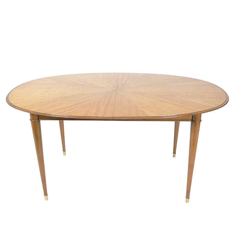 Elegant Modern Dining Table in the Manner of Tommi Parzinger by Charak