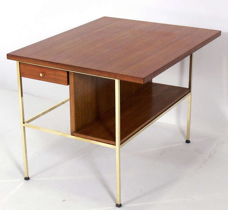 Pair of Modernist Nightstands or End Tables by Paul McCobb 2