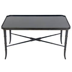 japanese black lacquer coffee table for sale at 1stdibs