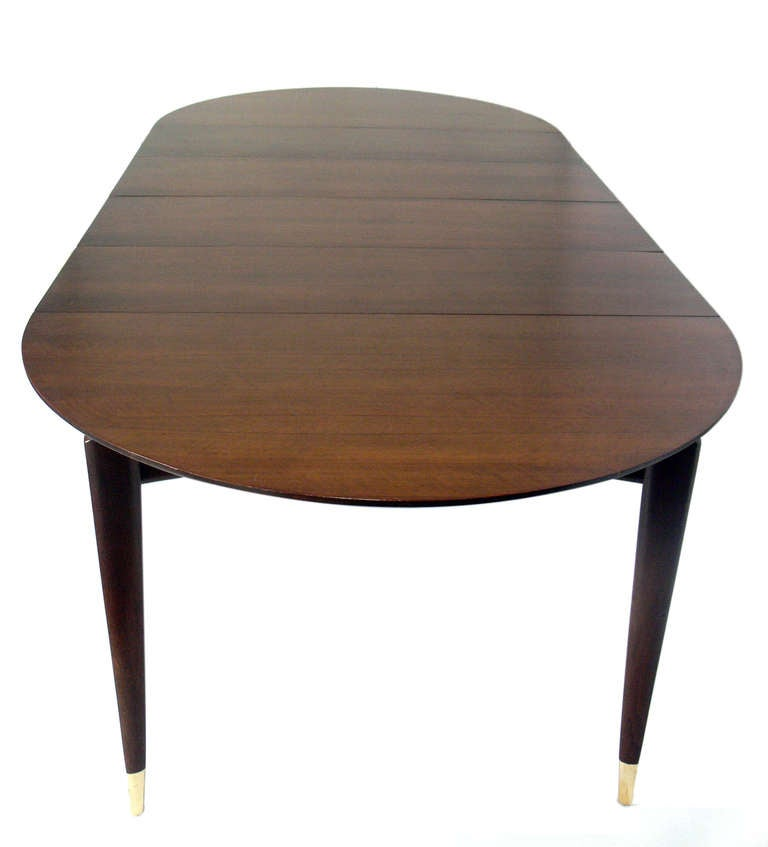 Gio ponti dining table seats 4 12 people at 1stdibs for Dining room table 4 person