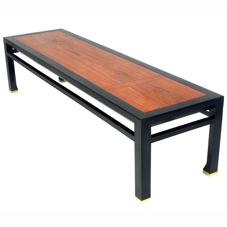 Elegant Coffee Table Or Bench Designed By Michael Taylor At 1stdibs