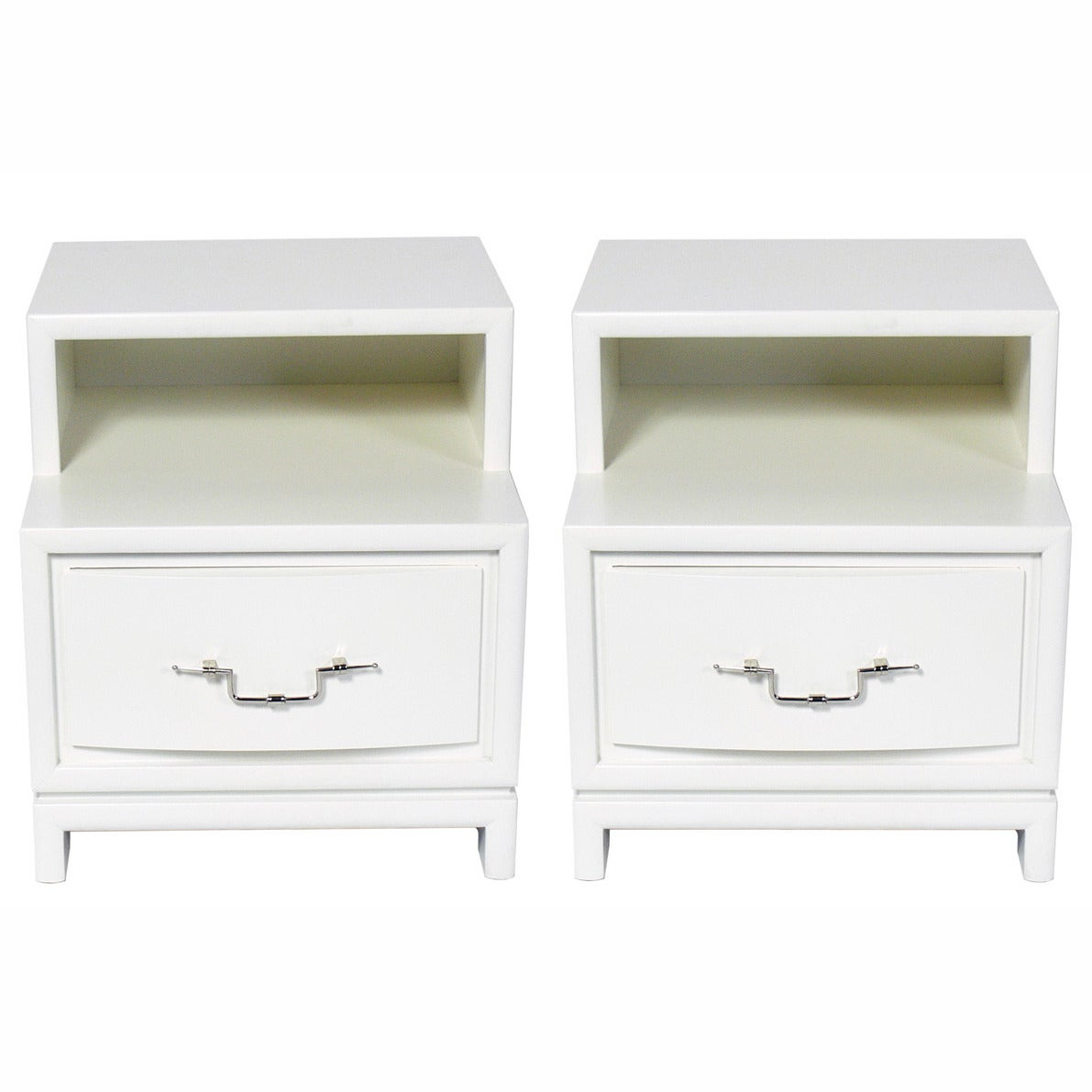 Pair of Night Stands or End Tables Attributed to Tommi Parzinger