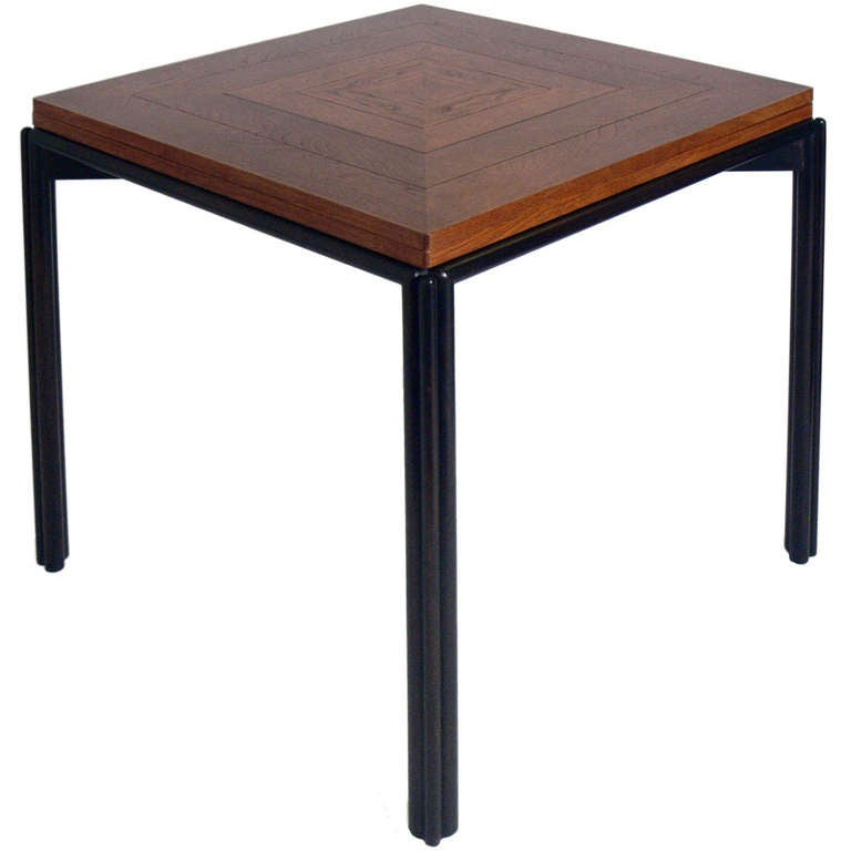 Dunbar expanding dining or game table at 1stdibs for Dining room game table