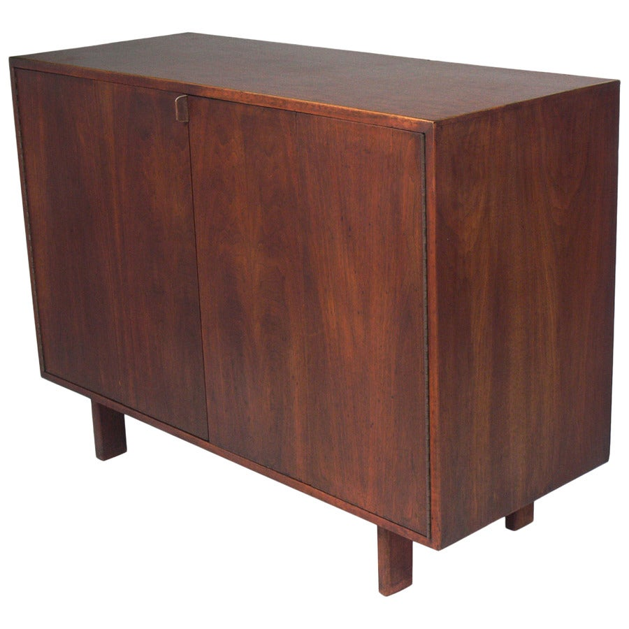 Custom Mid Century Walnut Credenza By Creative Woodwork Co Nyc For Sale At 1stdibs