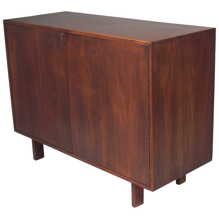 Custom Mid Century Walnut Credenza by Creative Woodwork Co., NYC
