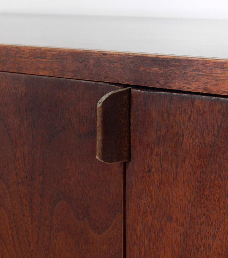 Custom Mid Century Walnut Credenza by Creative Woodwork Co., NYC In Good Condition In Atlanta, GA