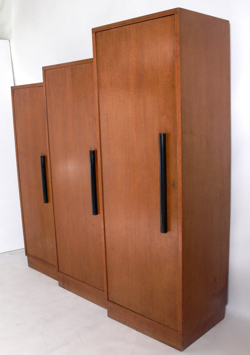 french art deco skyscraper armoire at 1stdibs. Black Bedroom Furniture Sets. Home Design Ideas