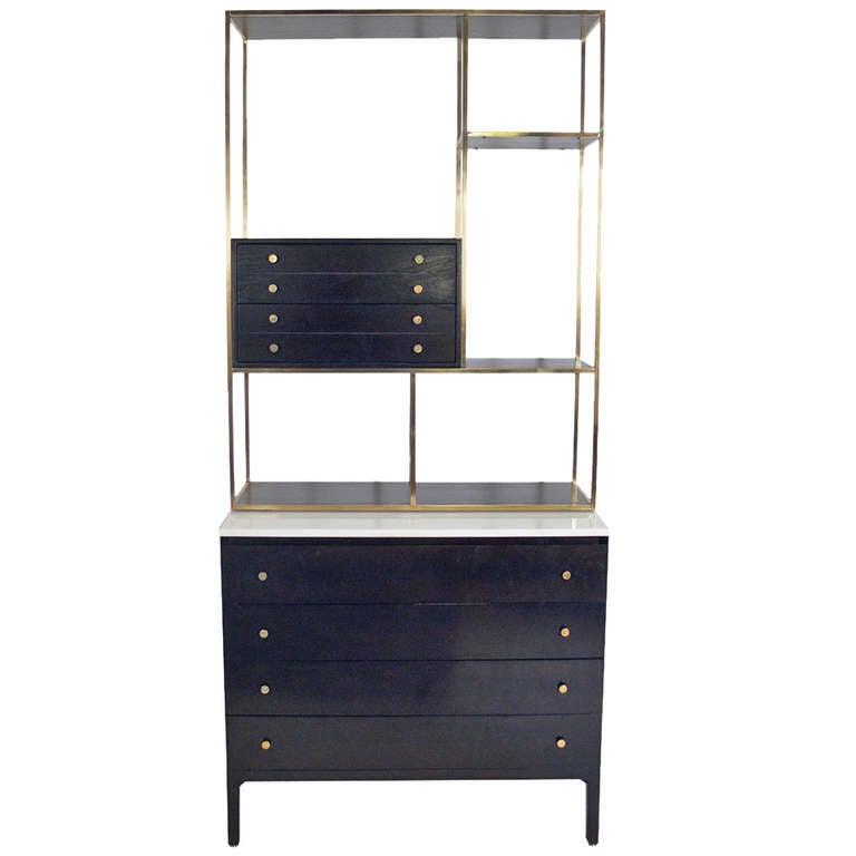 paul mccobb bookshelf or etagere at 1stdibs. Black Bedroom Furniture Sets. Home Design Ideas