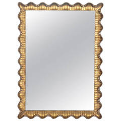 Venetian Scalloped Mirror