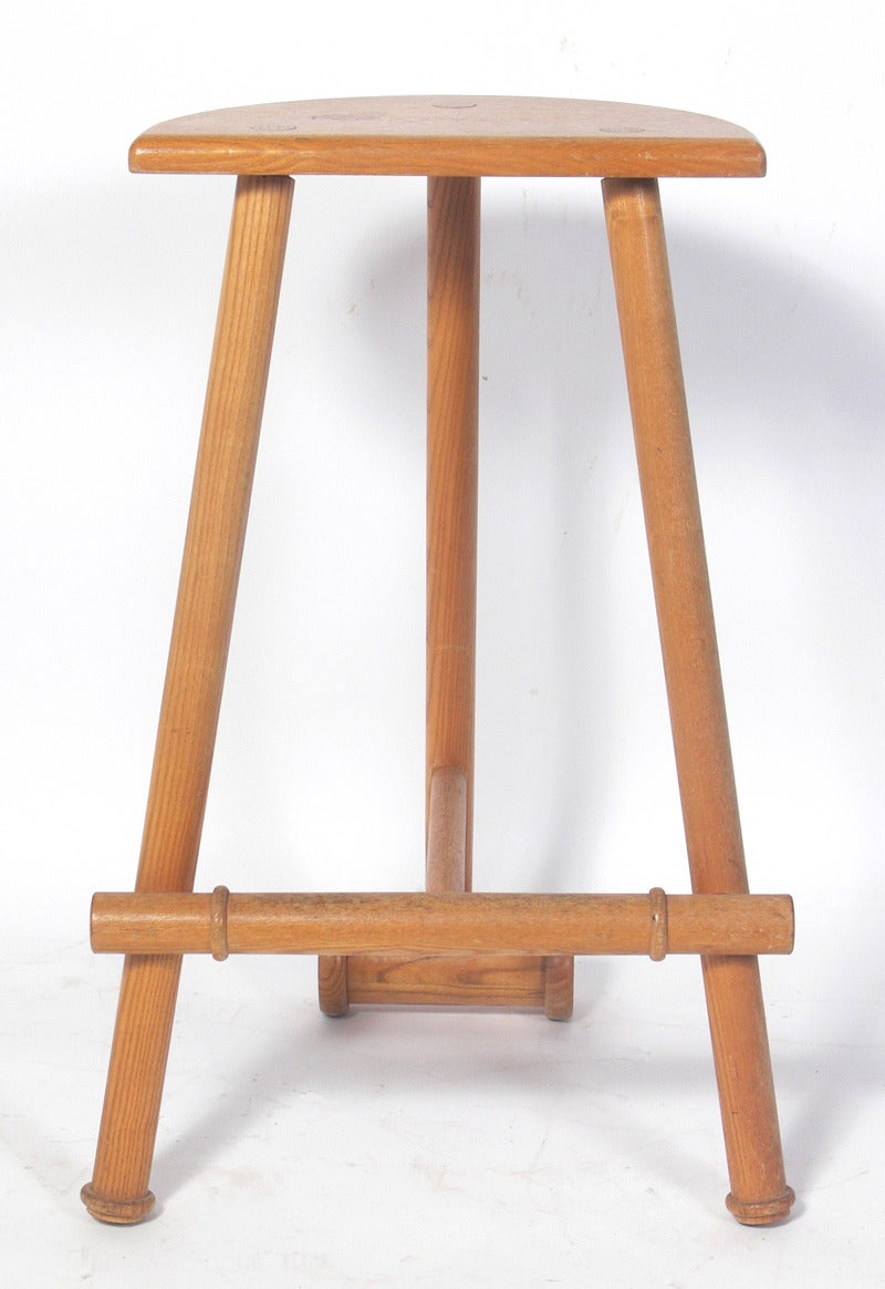Croquet Mallet Bar Stools At 1stdibs