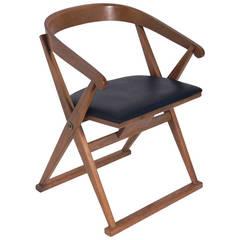 "Sculptural ""X"" Form Desk Chair by Drexel"