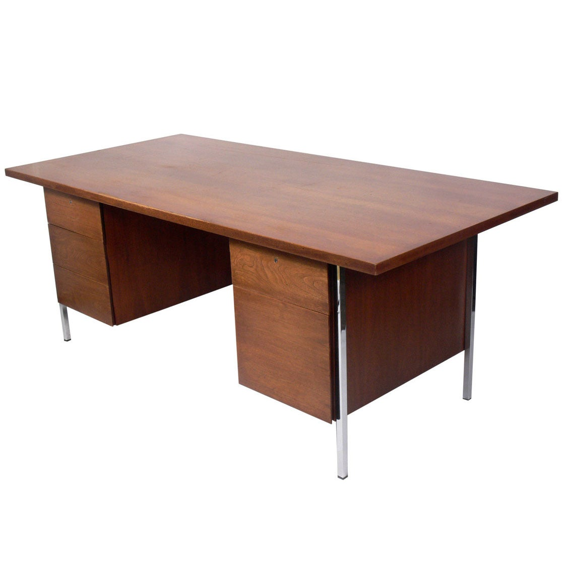 Modern Executive Desk By Florence Knoll At 1stdibs