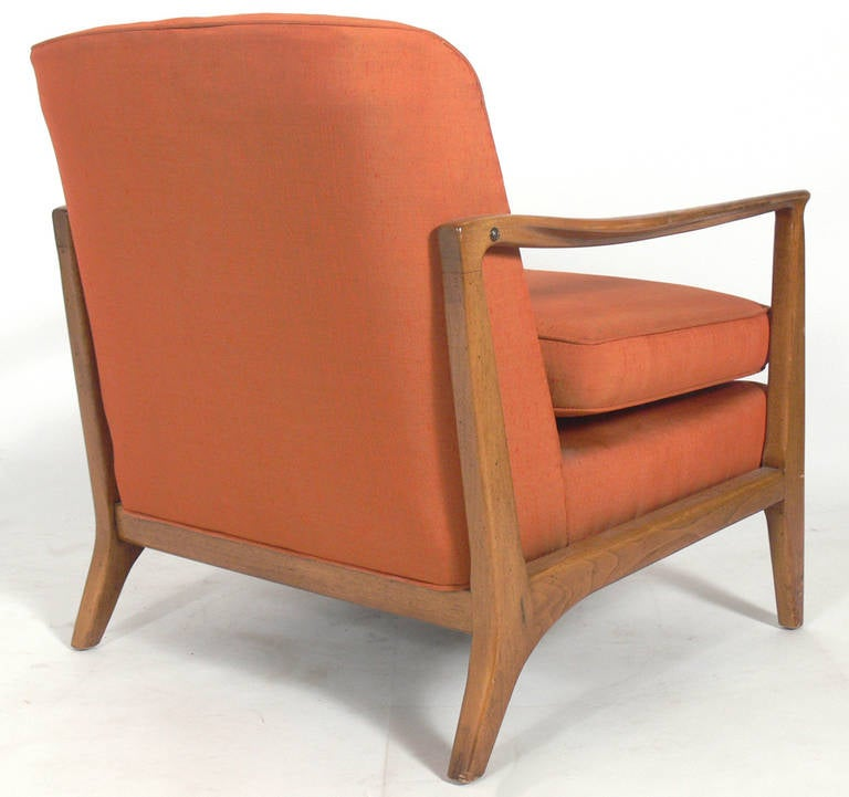 Mid-Century Modern Mid-Century Lounge Chair by Edward Wormley for Drexel For Sale