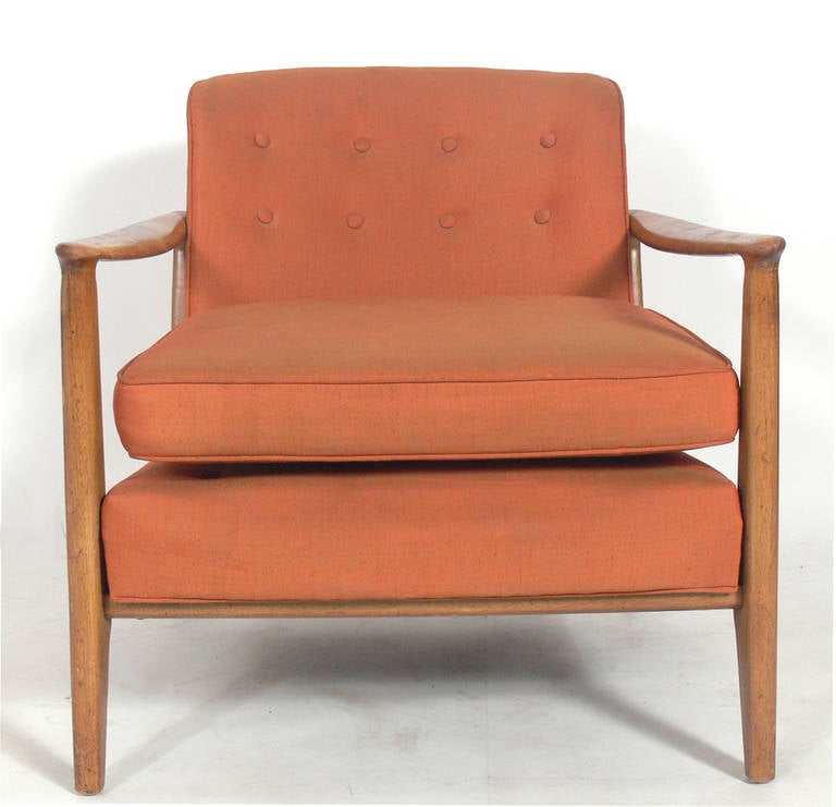 American Mid-Century Lounge Chair by Edward Wormley for Drexel For Sale