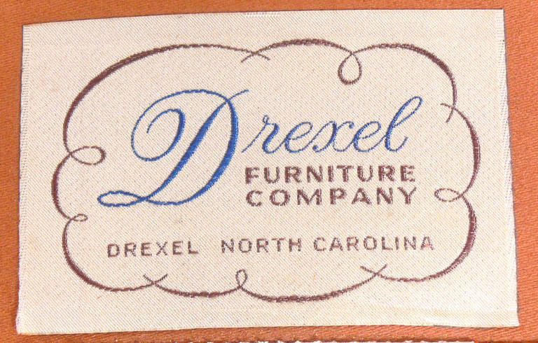 Mid-Century Lounge Chair by Edward Wormley for Drexel In Excellent Condition For Sale In Atlanta, GA