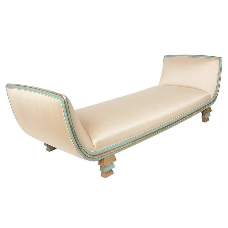 Rare skyscraper daybed or chaise longue designed by paul for Chaise or daybed