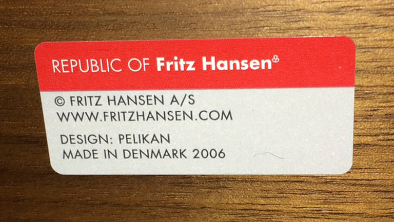 Danish Modern Plano Dining Table By Fritz Hansen At 1stdibs