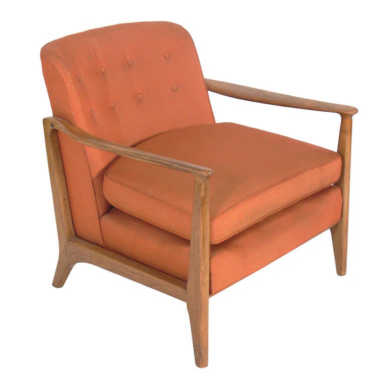 Mid-Century Lounge Chair by Edward Wormley for Drexel For Sale