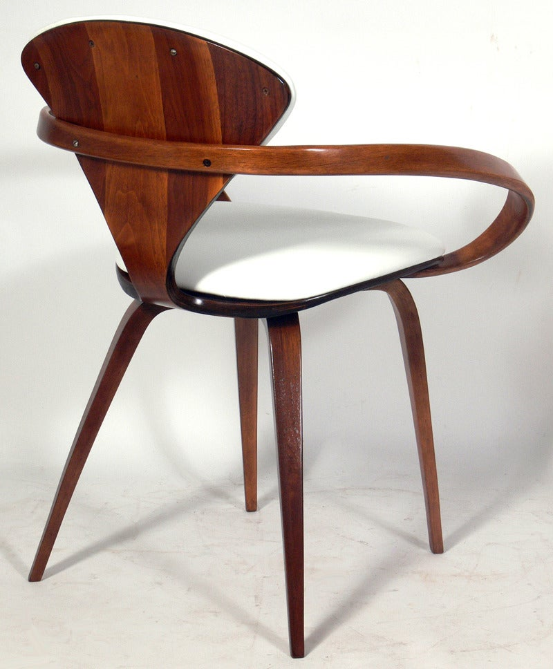 set of six plycraft dining chairs designed by norman cherner 3