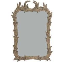 Elegant 1940's Floriform Mirror