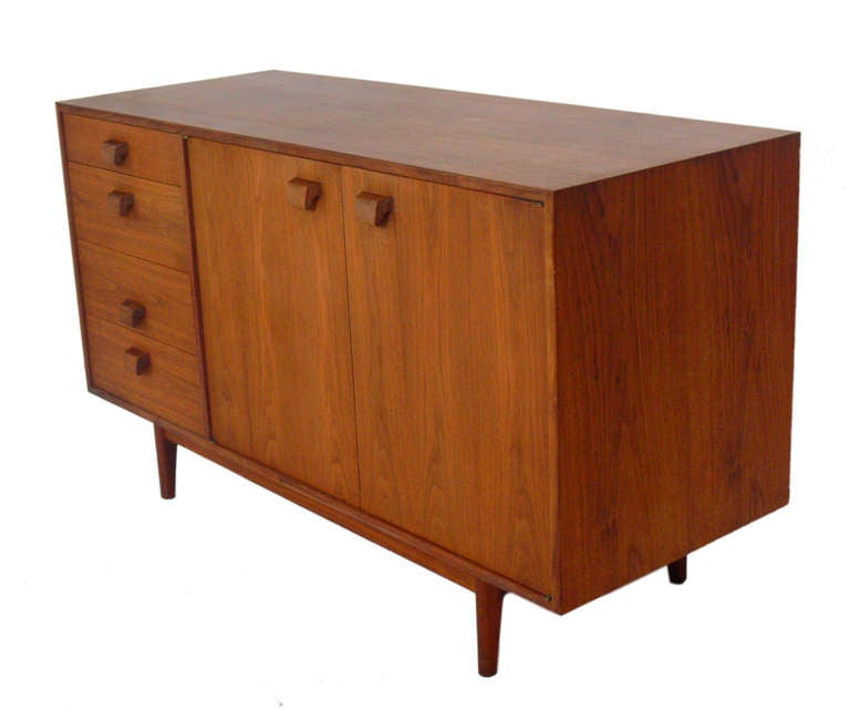 Two Modern Chests Or Credenzas Designed By Jens Risom At