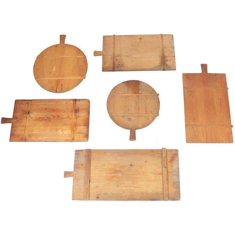 Great Wall Sculpture Collection of Antique Wood Cutting Boards