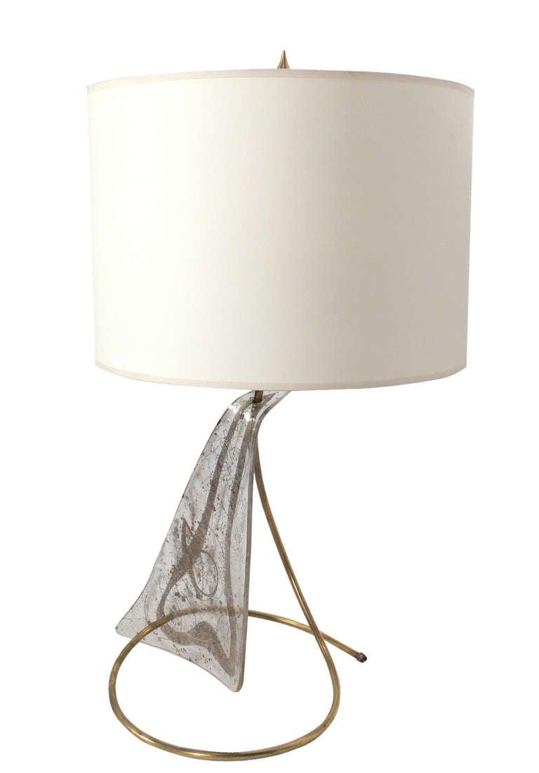 unique sculptural lamp by zahara schatz for sale at 1stdibs. Black Bedroom Furniture Sets. Home Design Ideas