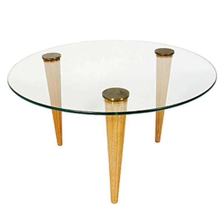 Art Deco Side or Coffee Table in the manner of Gilbert Rohde