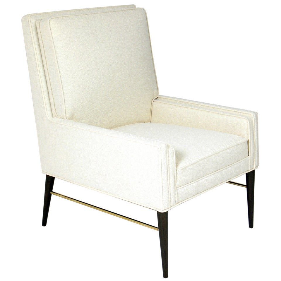 Clean Lined Modernist Lounge Chair By Paul McCobb At 1stdibs