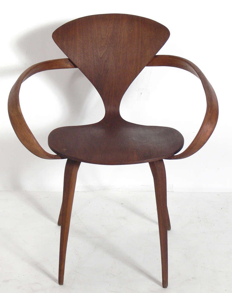 set of 12 plycraft dining chairs designed by norman cherner 2
