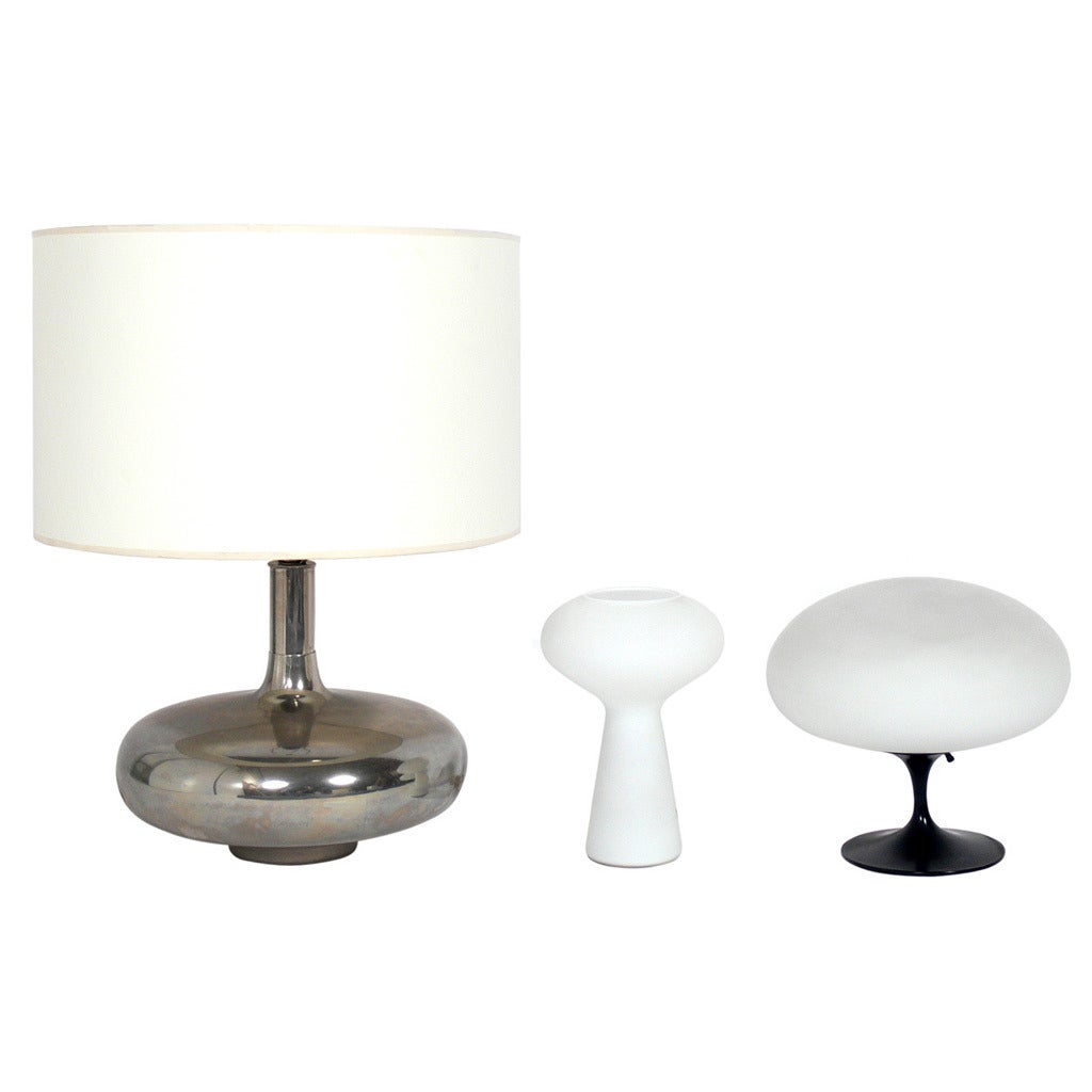 Selection of Sculptural Mid Century Modern Lamps
