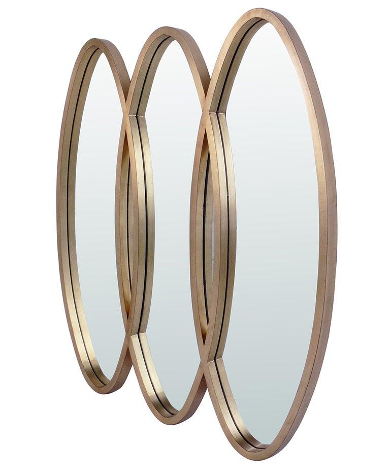 28 triple wall mirror triple oval overlapping mirror fresh