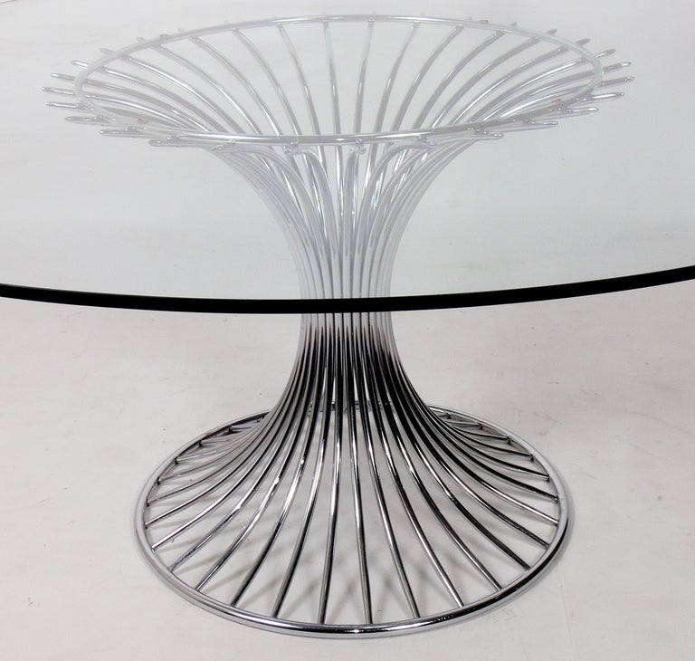 Dining table warren platner dining table base for Table warren platner