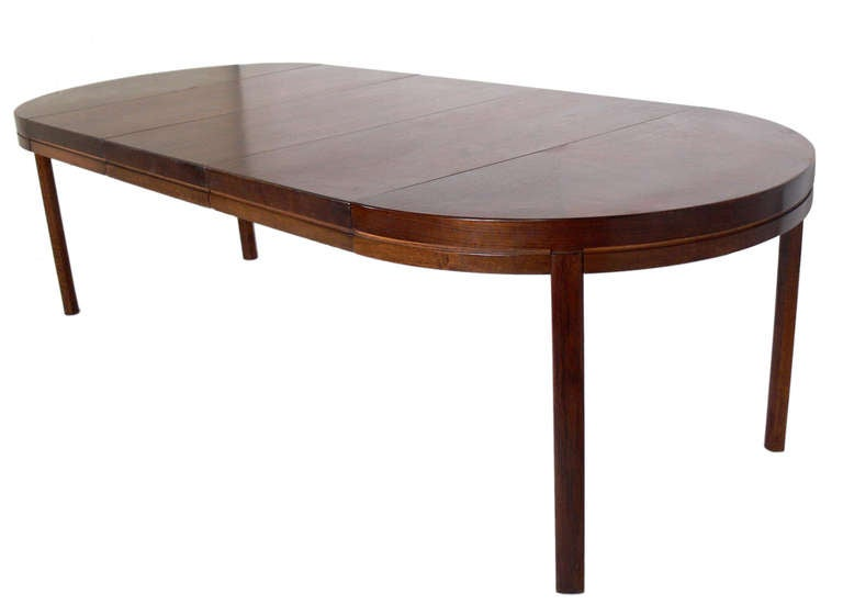 Midcentury Modern Walnut Dining Table Seats From 4 12 People Image 5