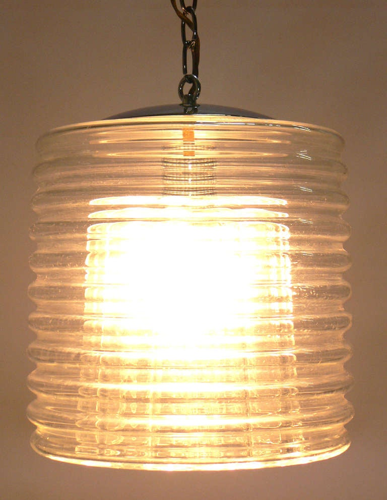 Modern Italian Glass Pendant Lamp Or Chandelier For Sale