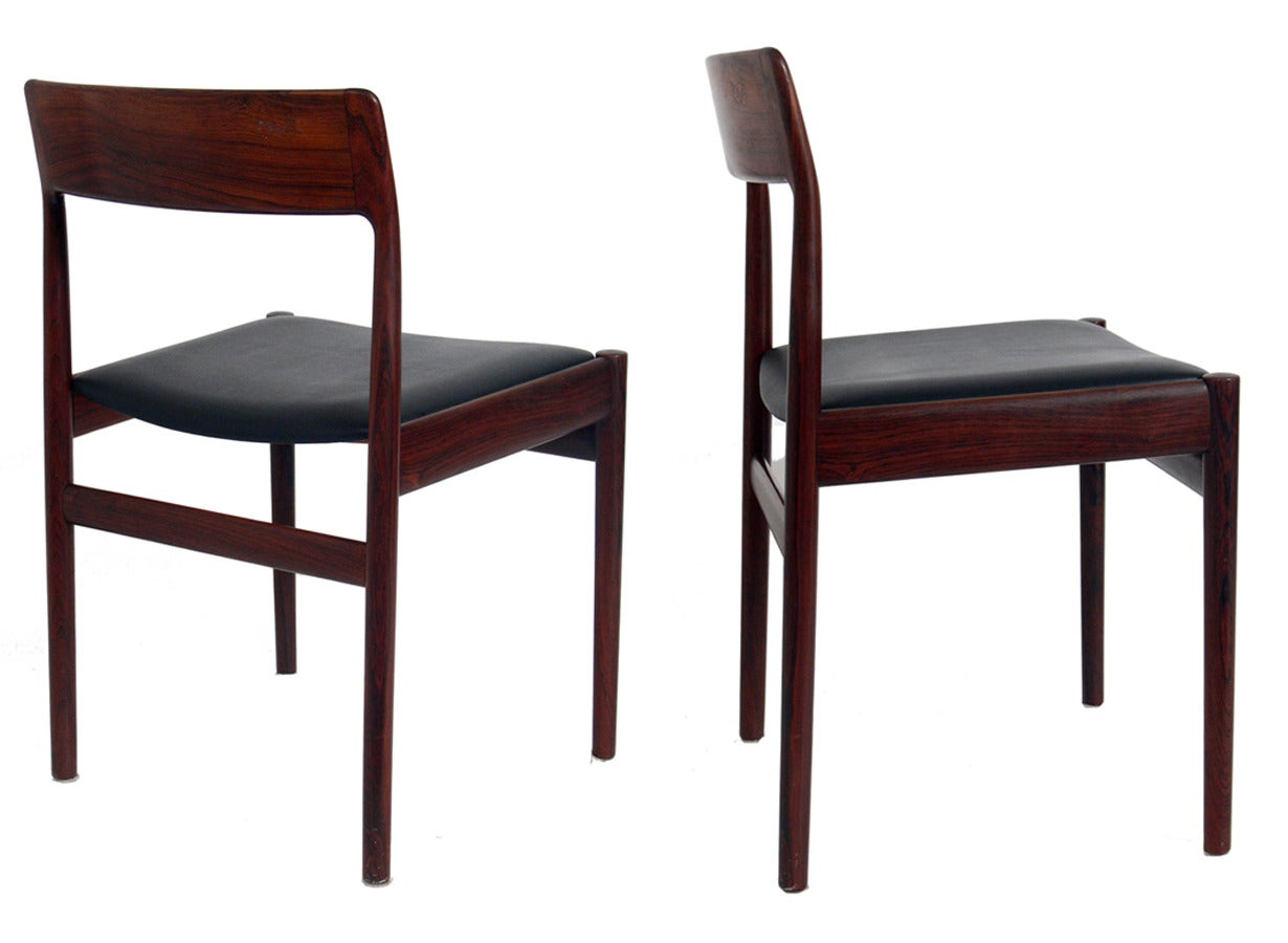 Selection of Mid Century Modern Desk Chairs In Good Condition For Sale In Atlanta, GA