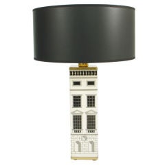 Architectural Table Lamp designed by Piero Fornasetti