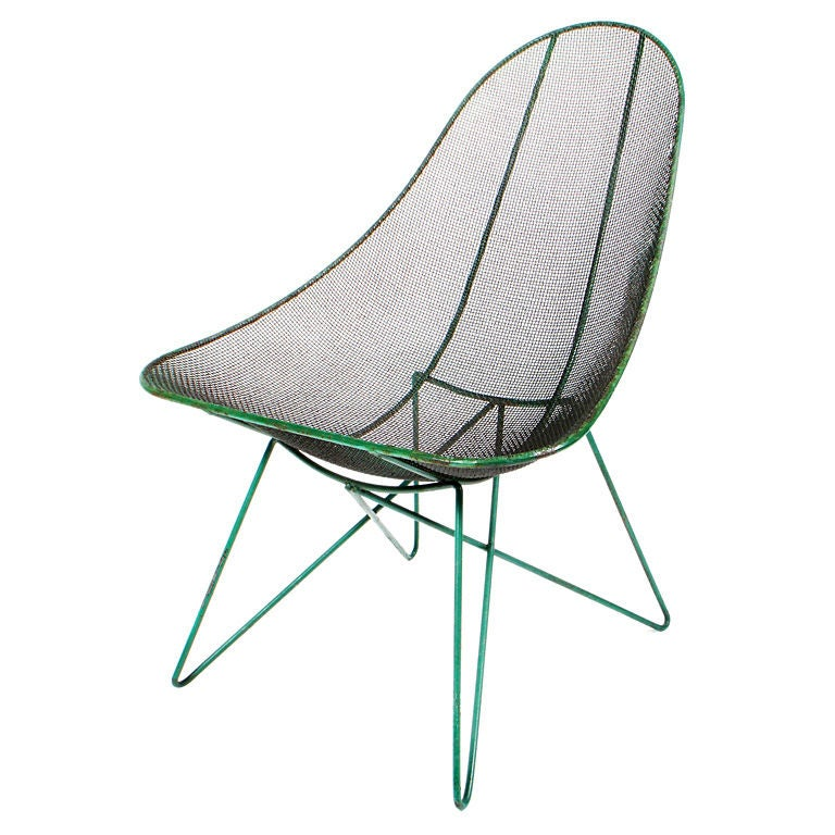 Low slung quot scoop quot lounge chair by sol bloom at 1stdibs