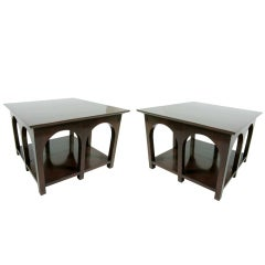 Pair of Large Scale Side Tables by T.H. Robsjohn Gibbings