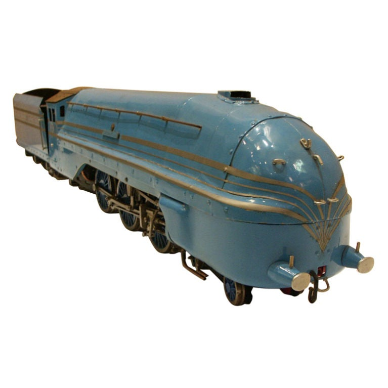art deco streamlined locomotive coronation scot live steam at 1stdibs. Black Bedroom Furniture Sets. Home Design Ideas