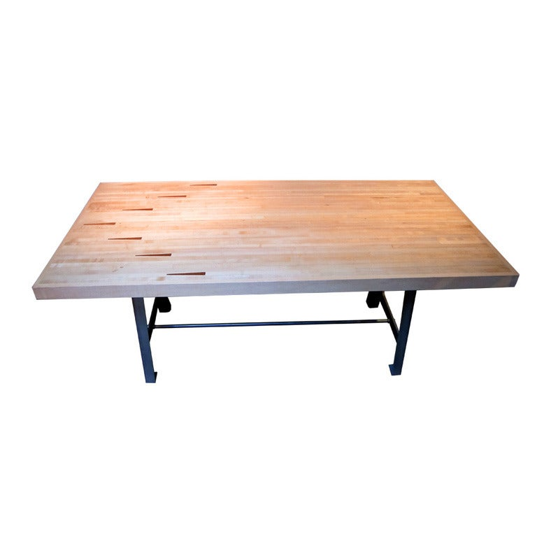 Bowling alley table at 1stdibs for Furniture work table