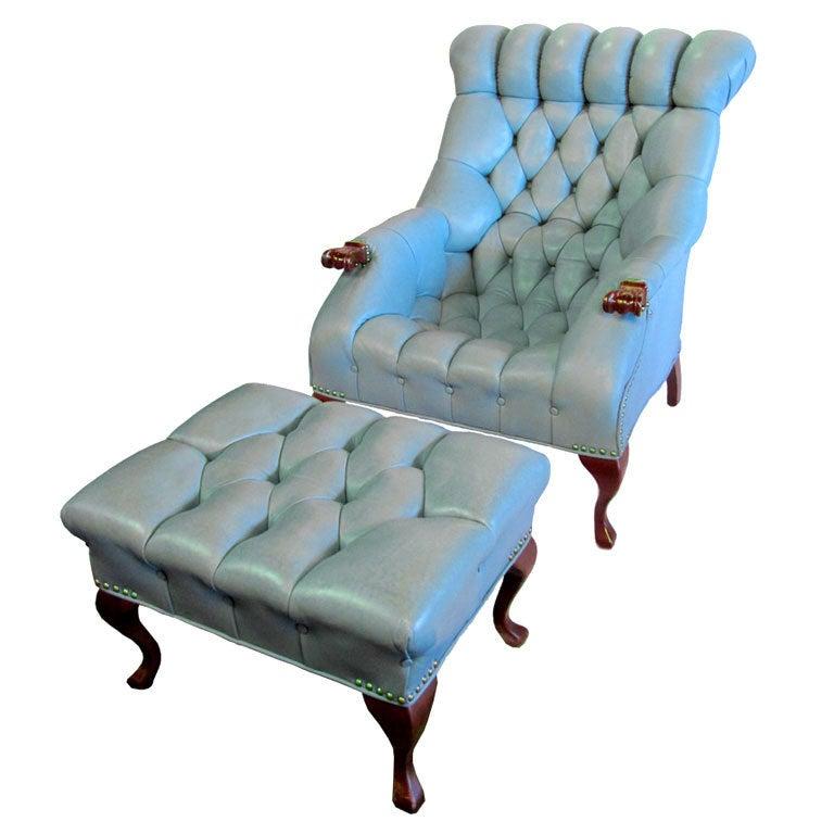Baby Blue Rip Van Lee Chair At 1stdibs