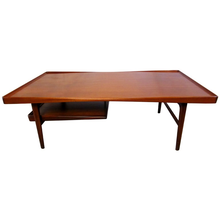 Danish modern coffee table at 1stdibs for Danish modern coffee table