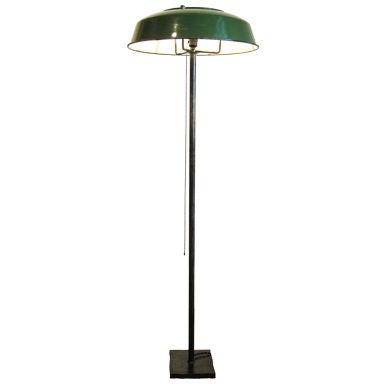 3 way custom floor lamp at 1stdibs. Black Bedroom Furniture Sets. Home Design Ideas