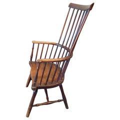 "18th Century English ""Comb-Back"" Windsor Armchair"