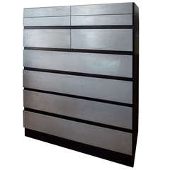"""A Danish Modern Chest of Drawers """" With a Face Lift"""""""