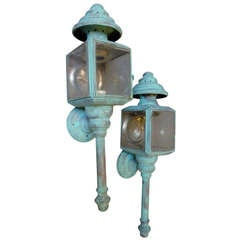 A Fine Pair of Carriage Lamps