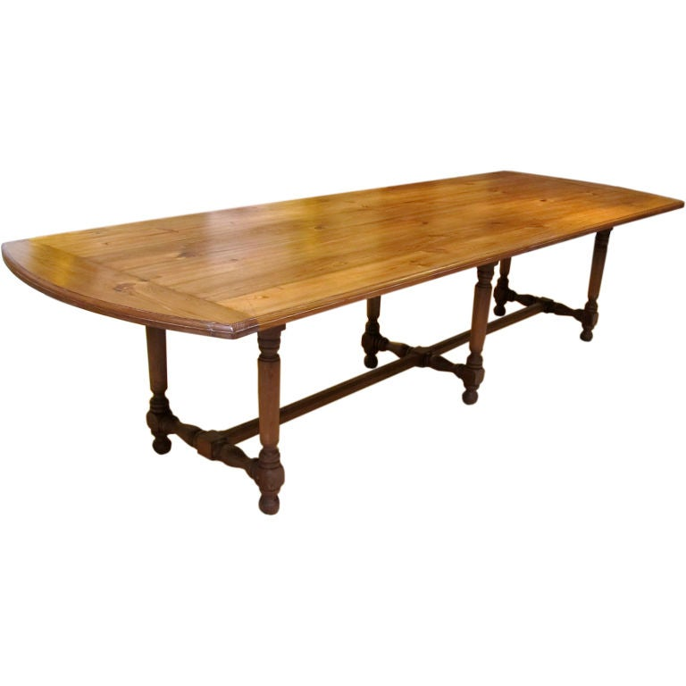 this french provincial farmhouse dining table is no longer available
